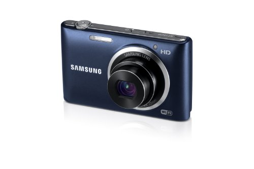 Samsung ST150F 16.2MP Smart WiFi Digital Camera with 5x Optical Zoom and 3.0'' LCD Screen (Black) by Samsung (Image #3)