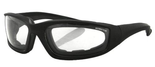 Black Frame Foamerz Lens 2 size Clear Bobster Sunglasses Frame Clear Sport Lens Black one wZvdPw0qx