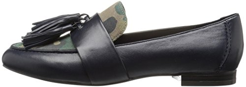 The Fix Women's Fabiana Tassel Penny Loafer, Midnight Navy/Camo, 8 M US by The Fix (Image #5)