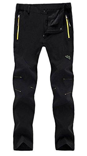 CATERTO Women's Waterproof Fleece Mountain Pants&Ski Pants (Women Black,L) Tag Size: 4XL
