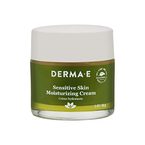 DERMA E Sensitive Skin Moisturizing Cream with Pycnogenol Vitamins A, C and E 2oz (Derma E Cream)
