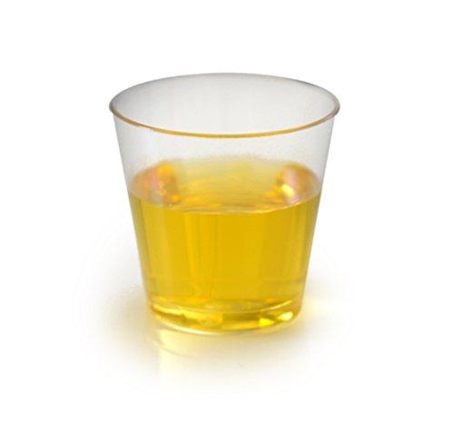 Green Direct Plastic Elegant Tumbler 2 oz Shot Glasses, Clear, 100 (Shot Glass Shooter Glassware)