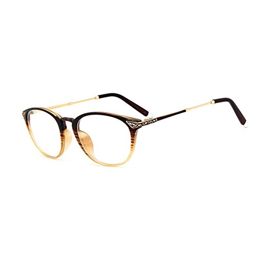 dking-vintage-optical-round-eyewear-prescription-eyeglasses-frame-with-clear-lenses-brown
