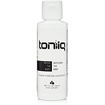 Toniiq Volt Electrolyte Liquid Concentrate | Electrolyte Drink Mix For Rapid Rehydration | Electrolyte Replacement with Magnesium, Potassium, Sodium & Chloride | Oral Rehydration Salts | 48 Servings