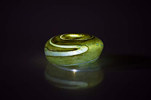 - Memorial Cremation Ash Glass Luminary Keepsake