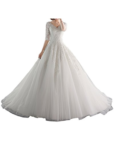 Victory Bridal - Robe - Trapèze - Femme