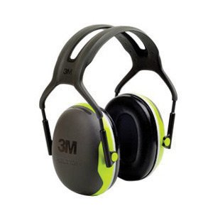 Black & Chartreuse Model X4A/37273 Conservation Earmuffs. (10 Each) by 3M