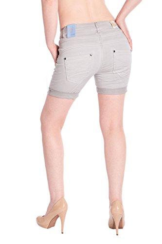 Bm3415 Blue Pantalones nbsp;de Jeans Gris Cortos Monkey Mujer rwx6r