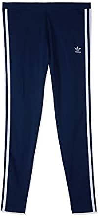 adidas Women's DH3182 3-Stripes Leggings Tight, Collegiate Navy, 32