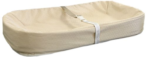 """L A Baby Cocoon Organic Changing Pad, Gold, 32"""""""