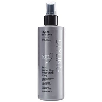 ION Styling Solutin Heat Protection Spray 8 fl.oz & ION Styling Solutins Dry Shampoo 4.5 oz Set with a FREE Mini Net Sponge