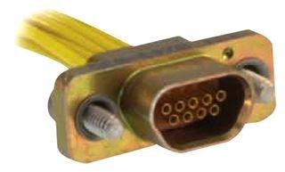 Micro D Sub Connector, 25 Contacts, Plug, MDM Series, Crimp / Solder, Cable Mount