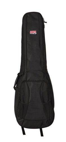 Gator Cases 4G Series Double Gig Bag for Bass Guitars with Adjustable Backpack Straps (GB-4G-BASSX2) by Gator