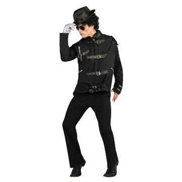 Mj Bad Costume (Mj Bad Bk Buckle Jacket Dlx)
