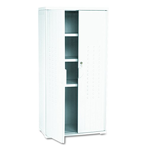Iceberg ICE92553 OfficeWorks High-Density Plastic Storage Cabinet, 18″ Length x 33″  ...