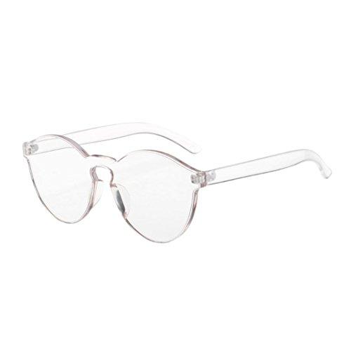 Forthery Women Cat Eye Polarized Mirrored Flat Lenses Classic Metal Frame UV Sunglasses (White) (Multiple Baseball Display Case)