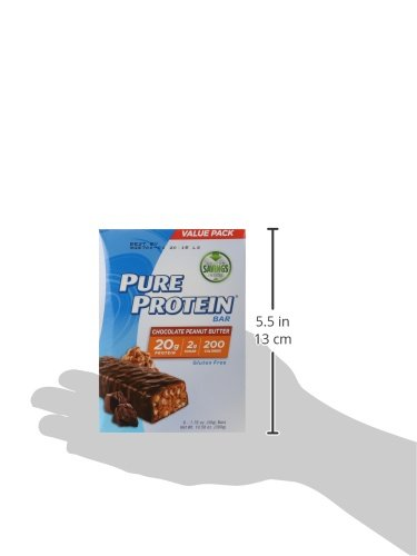 Pure Protein Chocolate Peanut Butter 50 Gram 6 Count