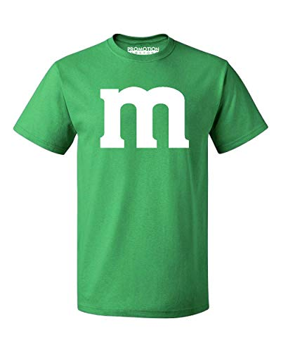 Promotion & Beyond M Halloween Team Costume Funny Party Men's T-Shirt, S, Green ()