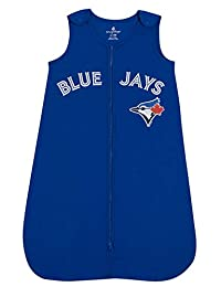 MLB Toronto Blue Jays Toddler Sleeper Sleeping Sack Infant Sleeper Blanket Sleep Bag Royal Blue 12-18 Months