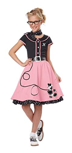50s Pink Poodle Girl Child Costume Fifties for $<!--$74.45-->