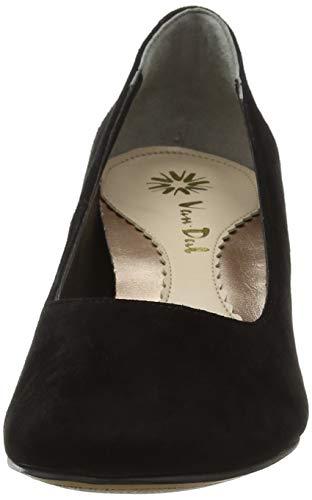 Bout Dal Black Croc Noir Suede Femme Patent Magpie Escarpins 130 fermé Van Print waqtgda