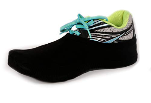PS Athletic Shoe Covers for Dancing (2 Socks), Socks Over Shoes, Overshoes for Sneakers, Smooth Pivots & Turns