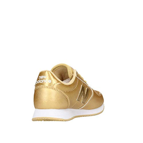 Balance L220 Gold Syntethic Kid Doré Sneaker Leather New 7dnqRFR