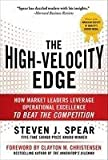 Book cover for The High Velocity Edge