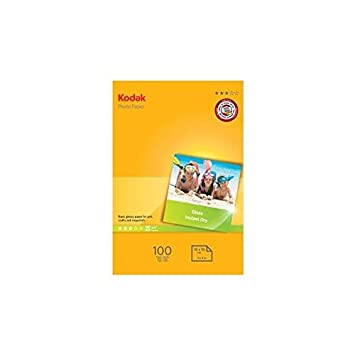 Kodak K5740-097 - Papel fotográfico para impresoras de inyección de Tinta (100 Hojas, A6, 10 x 15 cm, 180 g)