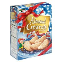 Amazon.com: Keebler Almond Crescents Cookies 11 Ounces (Pack of 4)