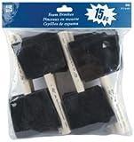 Bulk Buy: Loew-Cornell Foam Brushes 3'' 15/Pkg 3'' Wide 15/Pkg 840 (3-Pack)