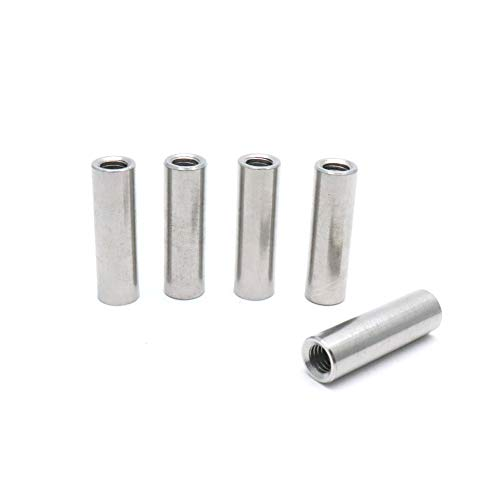Yohii M8 Round Connector Nuts Stainless Steel Coupling Nut 40mm/1.57