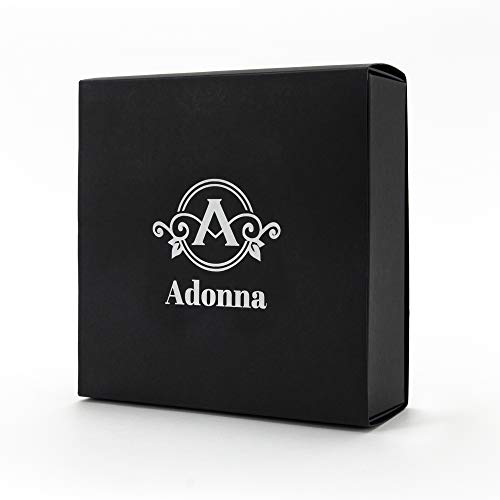 ADONNA 4 Pcs Makeup Sponge Set Blender Beauty Flawless for Liquid, Cream, and Powder with 4 Travel Cases