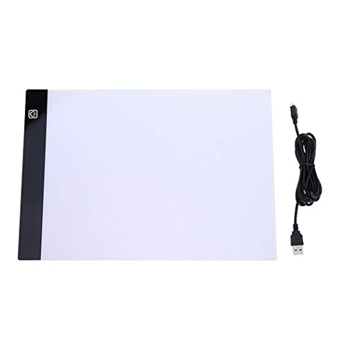 Bulges LED Light Graphic Writing Painting Drawing Copy Board Digital Tablet Light Boxes ()