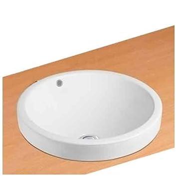 Neg Waschbecken Uno35e Rund Teilversenkt Einbau Waschschale