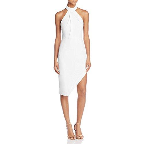 StyleStalker Womens Riscal Halter Sleeveless Cocktail Dress Ivory L by StyleStalker