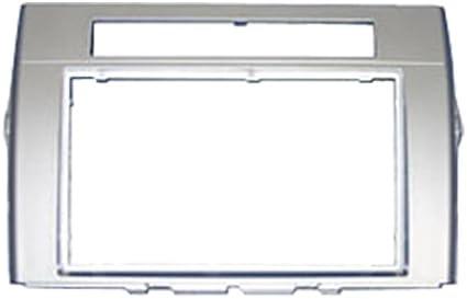 Autoleads DFP-11-11/ S - Ranura Doble DIN para Radio de Coche para Toyota Corolla Verso, Color Plateado