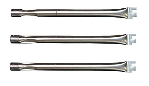Hongso SBC041 (3-Pack) Replacement Burner for BBQ Grillware, Ducane, Home Depot, Original Part, Lowes Model Grills (Original Part Numbers: 30500702, 30500603, 305000047, 30500094, DUCHD1) by Hongso