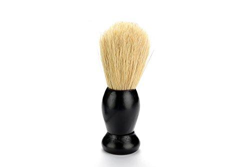 16GB Maple Shaving Brush 2.0 USB Flash Drive - Stained in Ebony Black - Single Item - Shaving Brush Design