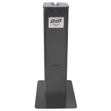 Dispenser Stand, Free Standing, Black
