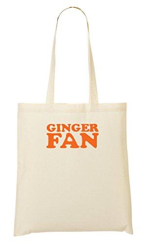 CP Ginger Fan Bolso De Mano Bolsa De La Compra