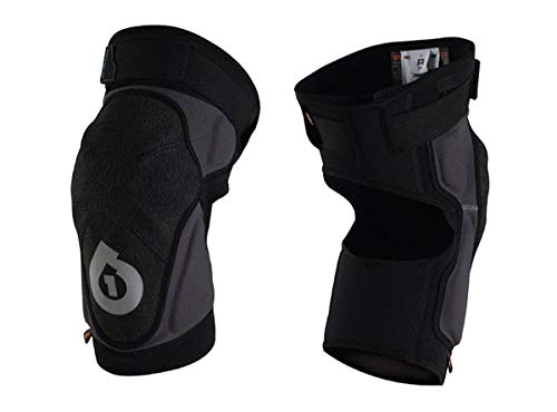 SixSixOne Unisex-Adult Evo Knee Guard II (Black, Medium)