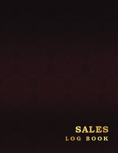 (Sales Log Book: Vintage Luxury Style Business Record Journal Companies Shops 8.5