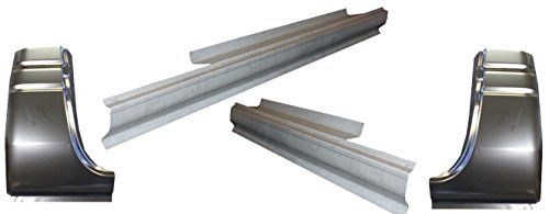 Motor City Sheet Metal - Works With 1994-02 Dodge Ram Standard Cab Rocker Panels And Cab Corners 4 Piece Kit