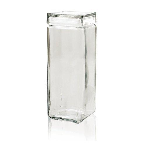 Anchor Hocking 85634R1 2.5 Quart Square Stackable Jar