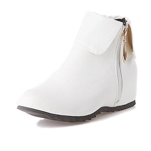 al las la de Gris resistente de botas cortas la de doble Rojo Blanco desgaste HLas mujeres de goma de estaciones negro interior H white cara resbalón cremallera altura Azul 40 cuatro alta Zq46tRw