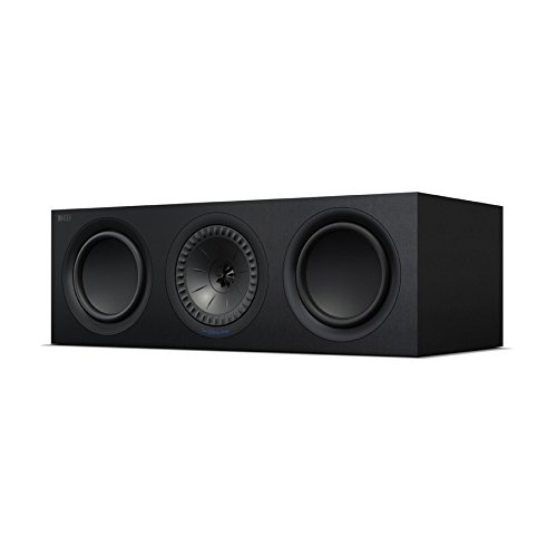 KEF Q650c Center Channel Speaker (Each, Black)