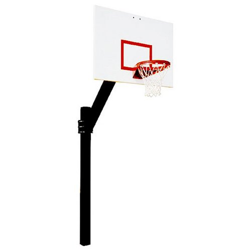 First Team Legend Jr. Extreme In-Ground Basketball Hoop with 60 Inch Steel Backboard by First Team