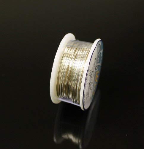 - Silver Plated Non Tarnish Wire 18 Ga. 4 Yard Craft Wire