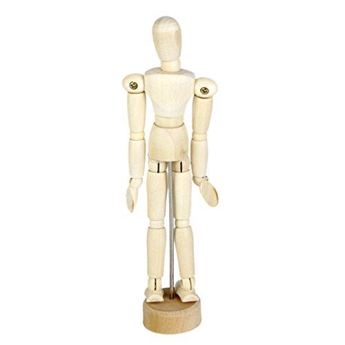 Wooden Human Mannequin Unisex Inch